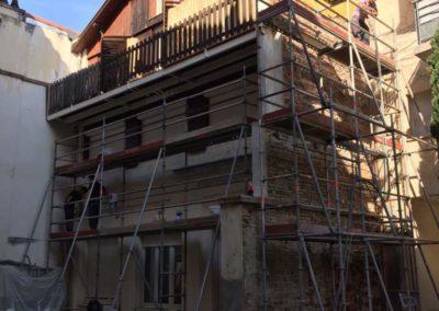 Façade immeuble rue Salenques