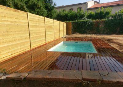 Terrasse piscine Carmaux